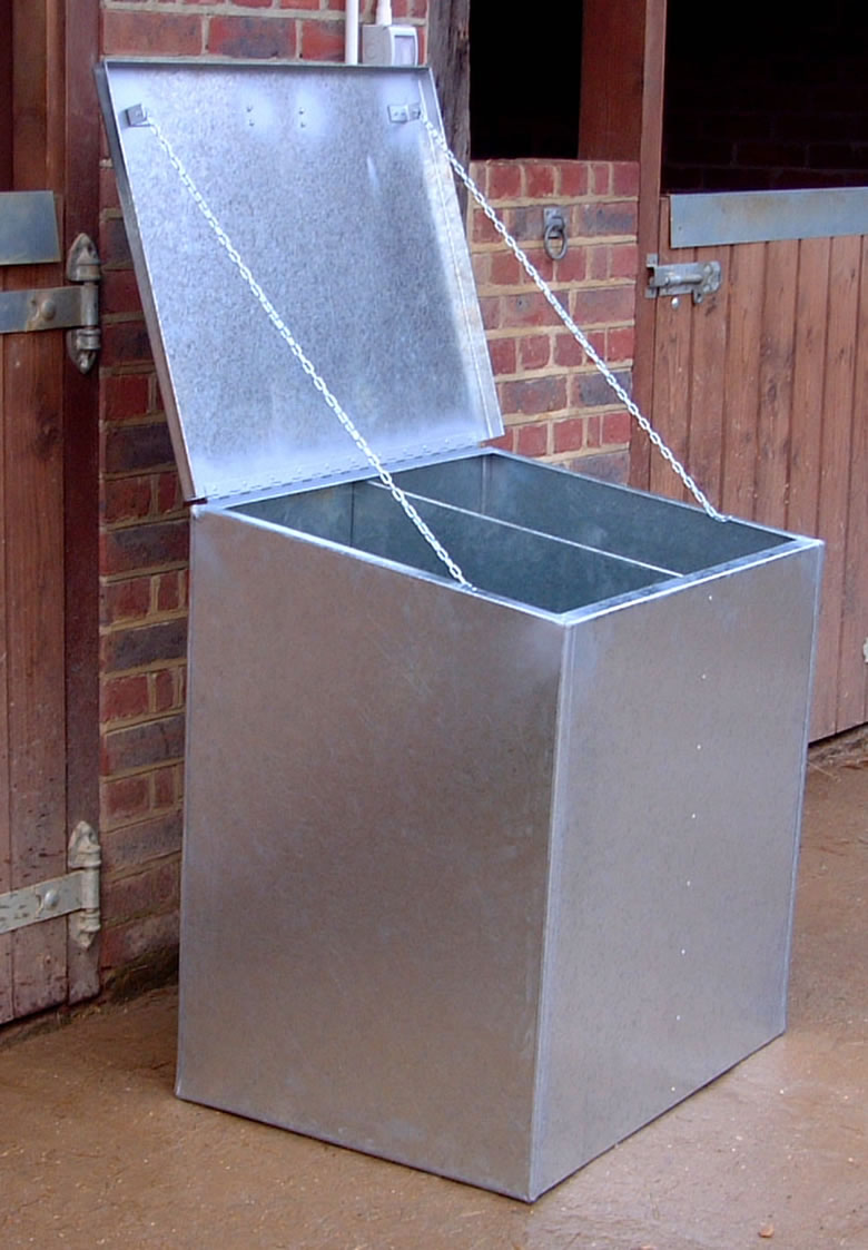Double Compartment Feed Bin
