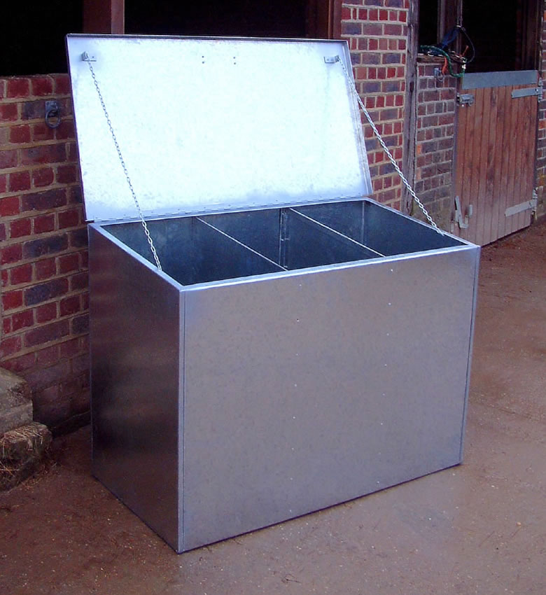 Triple Compartment Feed Bin