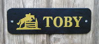 Stable Name Plates